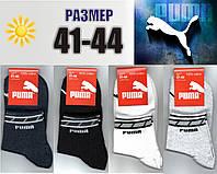 Мужские спортивные носки с сеткой PUMA 41-44р. НМЛ-126