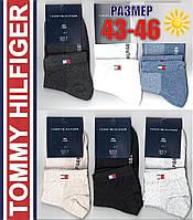 """Мужские спортивные носки с сеткой """"Tommy Hilfiger""""  43-46р. НМЛ-128"""