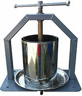 Пресс ручной для сока 15 л нержавейка Винница