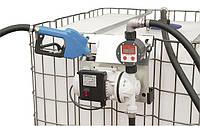 Комплект для перекачки жидкости Adblue SAD-1000M,  для еврокуба 1000 литров