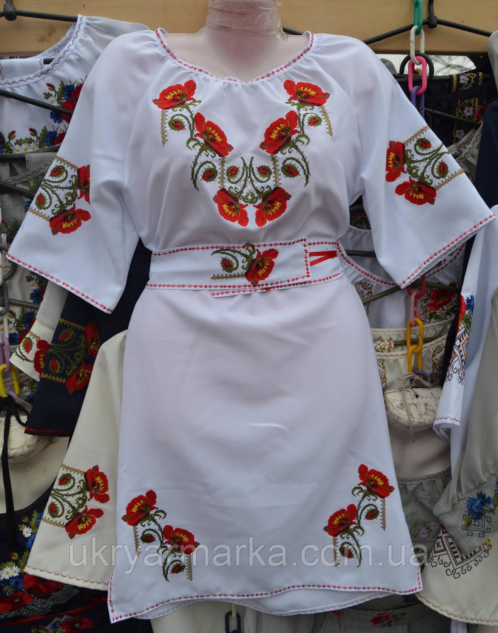 49dc4e9f130bb6 Вишите плаття