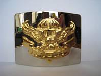 Бляха ВДВ орел никель золото