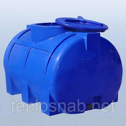 Пластиковый бак (емкость  горизонтальная) RG 250 двухслойная, фото 2