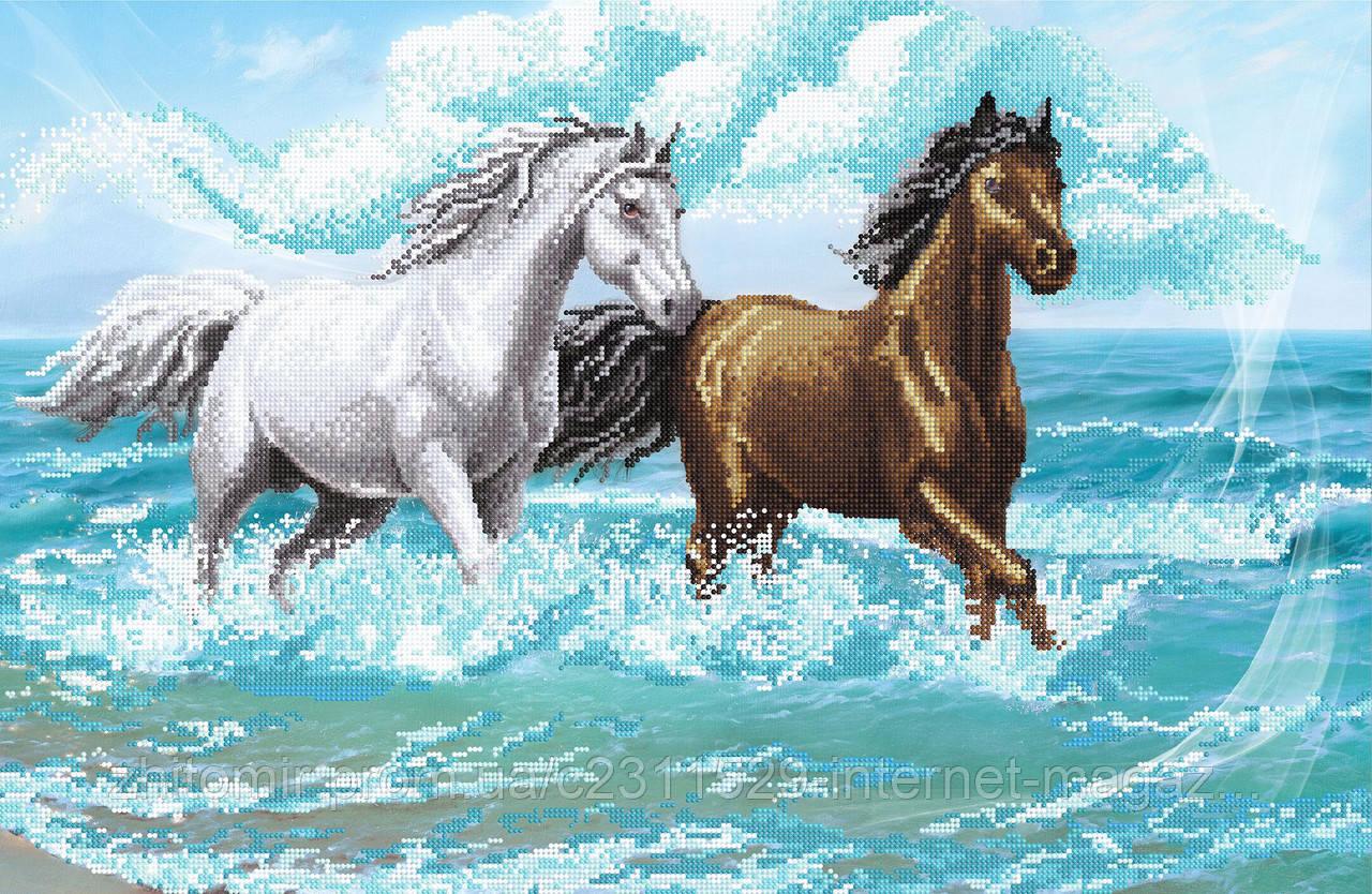 Схемы для вышивки лошади бегущей