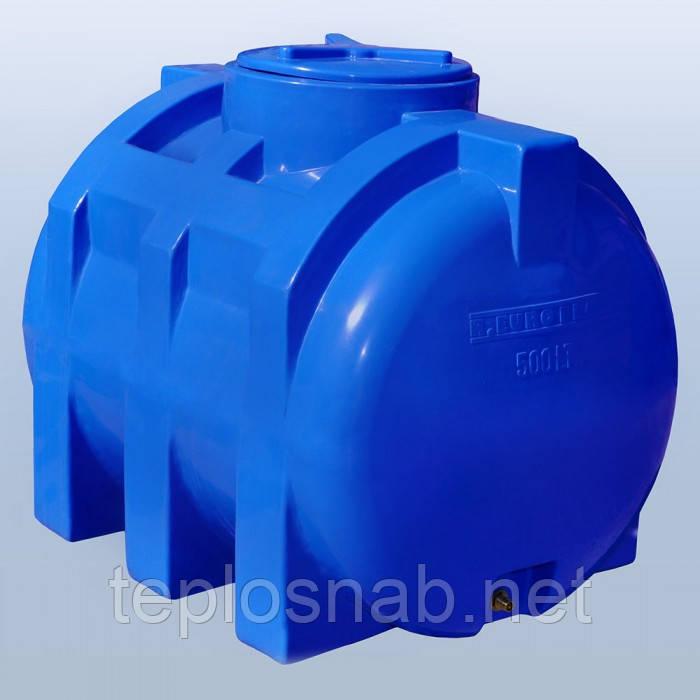 Пластиковый бак (емкость  горизонтальная) RG 500 двухслойная