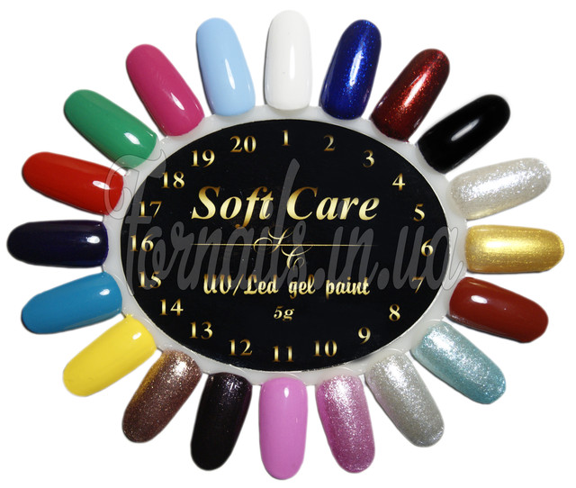 Гель-краска Soft Care