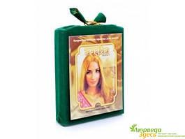 Аюрведическая краска для волос, Золотой Блонд, Aasha Herbals. На основе комплекса целебных аюрведических трав