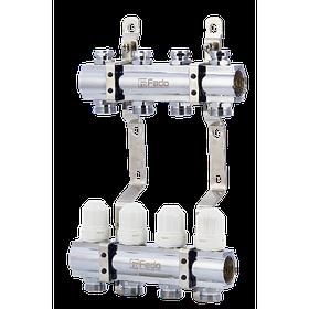 """Коллектор FADO с запорными клапанами 1""""х3/4"""""""