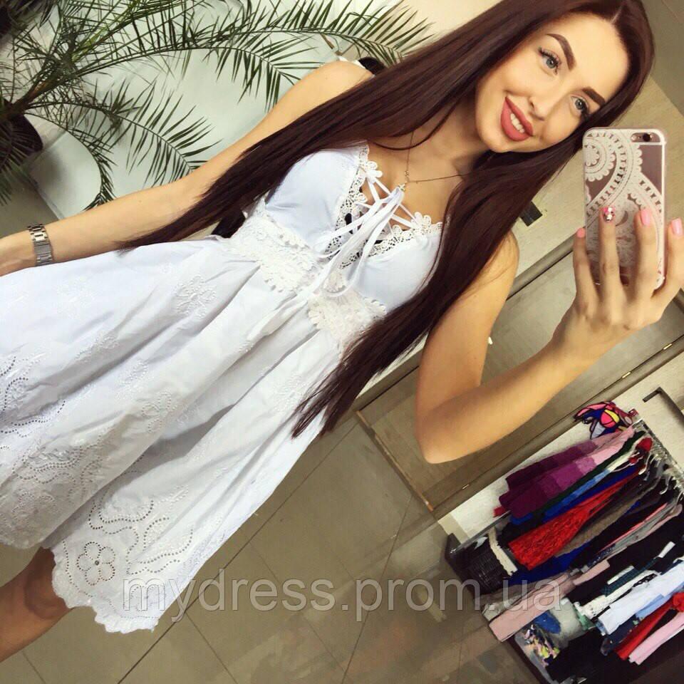 9e4b854ffe6 Хлопковый сарафан прошва - MY DRESS SHOP стильная одежда от лучших  производителей в Харькове