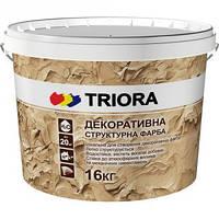 Краска структурная декоративная TRIORA 16кг