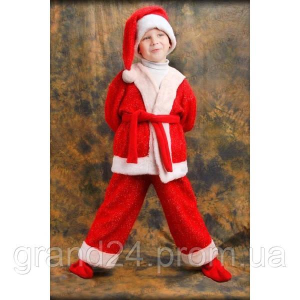 ccb6c86ab12 Оригинальный детский карнавальный костюм Деда Мороза детский