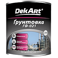 Грунтовка ГФ-021 DekАrt (серая) 2,8кг