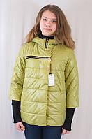 Весенняя женская куртка с оригинальным рукавом Ольга.