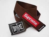 Ремень коричневый Supreme