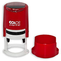Автоматическая пластиковая оснастка для круглой печати Colop Printer R40 cover, диаметр 40 мм
