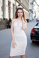 Платье женское вечернее Victoria на выпускной - Бежевый