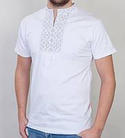 Мужская нарядная футболка вышиванка