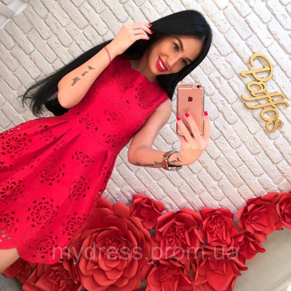 7bb051a6dd6 Платье перфорированный жаккард - MY DRESS SHOP стильная одежда от лучших  производителей в Харькове