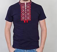 Мужская вышиванка на короткий рукав