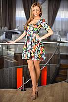 Платье принт змейка 20/8013, фото 3