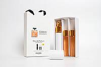 Парфюмированный мини набор для женщин Chanel Coco Mademoiselle 3*15 ml