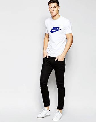 Мужская футболка Nike белая, фото 2