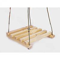 Качель деревянная простая