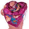 Женский яркий хлопковый шарф 174*68 SOFTEL (СОФТЕЛ) SAT17441