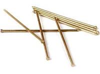 Гвозди финишные столярные 1.6х40 мм (желтый цинк, фасовка 1 кг)