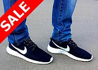 Кроссовки мужские Nike Roshe Run черные
