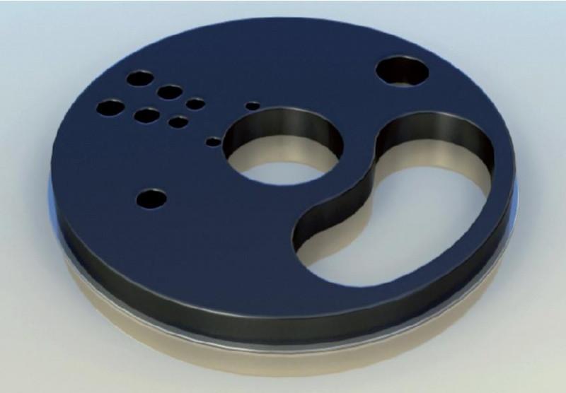 Плита ущільнювальна для установки aliva 246.5