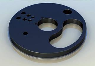 Плита ущільнювальна для установки meyco piccola