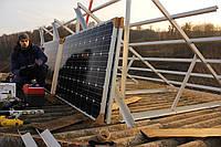 Монтаж сонячних батарей