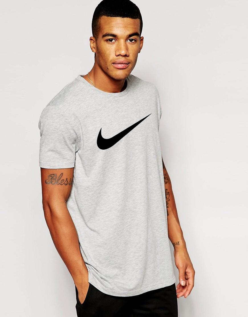 Мужская футболка Nike серая