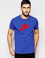 Мужская футболка Найк с принтом