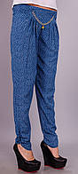 Мирра.Молодежные брюки женские.ДжинсОгурец.(Р). 44