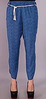 Миранда.Укороченные женские брюки.ДжинсОгурецПринт.(Р).ДжОгурПринт. 42