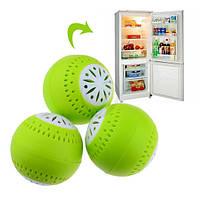 Поглотитель запаха для холодильника - шарики Fresh Balls