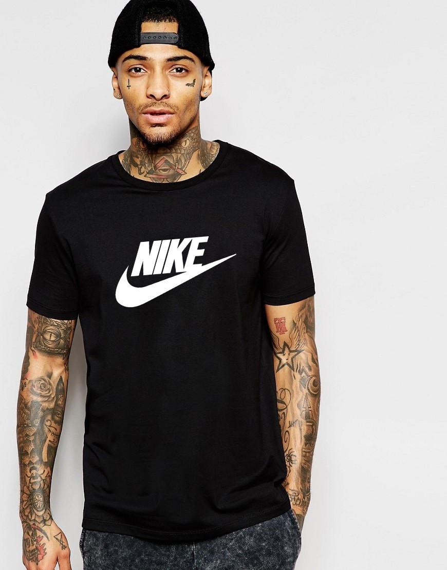 Мужская футболка Nike черный