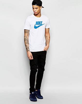 Чоловіча футболка Найк біла, фото 2