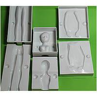 Молд кондитерский пластмассовый Женщина 3D