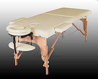 Двухсекционный массажный деревянный стол TEO