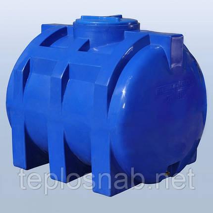 Пластиковый бак (емкость  горизонтальная) RG 750 двухслойная, фото 2