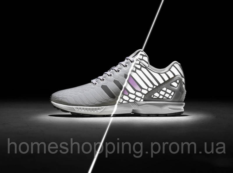 Женские кроссовки Adidas Zx Flux Xeno Silver