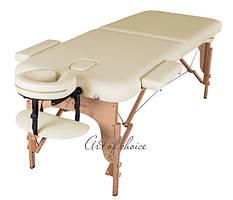 Двухсекционный массажный деревянный стол MIA