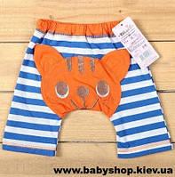Детские шорты с рисунками на попках (лисёнок)