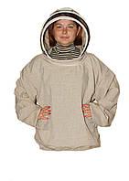 Куртка пчеловода Евро. Лён. Размер S / 48