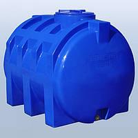 Пластиковый бак (емкость  горизонтальная) RG 1000 двухслойная