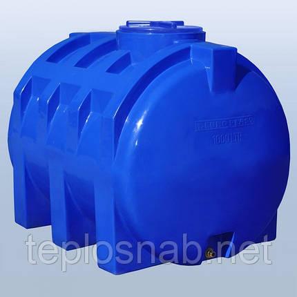 Пластиковый бак (емкость  горизонтальная) RG 1000 двухслойная, фото 2
