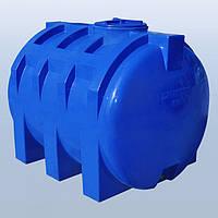 Пластиковый бак (емкость  горизонтальная) RG 1500 двухслойная